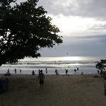 Kuta Bali Strand ca um 17.30 Uhr
