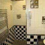 El baño, entrada a la ducha