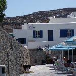 hôtel depuis la piscine