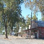 Street scene, old Hwy 99 in nearby Artois