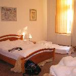 Spacious rooms with good beds