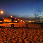 Sunset at Portobello Beach