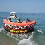 THE UFO speedboat ride