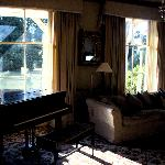 Guest Lounge with Baby Grand Piano