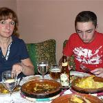 Dinner at Dar Mima restaurant