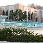piscine extérieure du spa