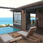 Terrasse, Plunge Pool, Tagesbett