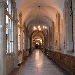 Hallway in the Hospitel