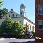 Moravian College - center of Bethlahem