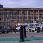 West side of hotel
