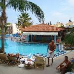 The pool at Malia Mare