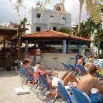 Pool bar at Malia Mare