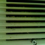 This is the vent in the bathroom.