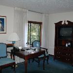 Desk and armoir