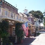 Nearby western style street