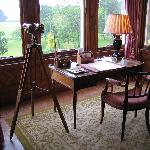 Writing Desk in the Drawing Room