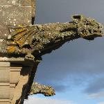 Gargoyle detail on the Castle