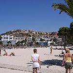 Santa Ponsa main beach