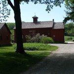 Barn where Melville & Nathaniel Hawthorne often met to discuss their literary works