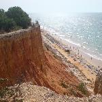 Praia De Falesia Beach
