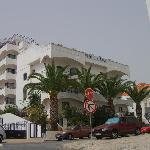 Hotel da Gale from the big hill!