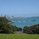 Beautiful view of Auckland
