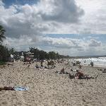 Noosa Main Beach - a 15min walk away