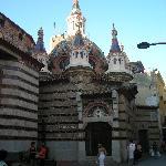 L'église de LLoret Del Mar