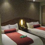 2 kingsize beds in the deluxe room