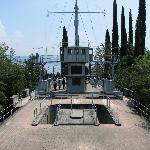 The light cruiser Puglia