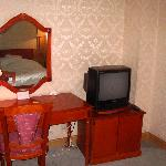 Dresser & TV in bedroom