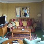 Living area Parkes suite
