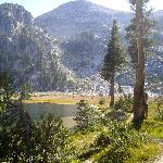 elizabeth lake near tuolomne meadows