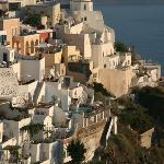 town of Fira - 20 min by bus; good for pictures