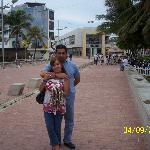 Centro San Andres, paso peatonal