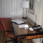 Desk Area of Intercontinental Hotel Tampa Guestroom