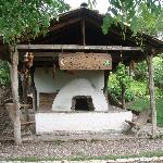 Outdoor over at Hacienda San Lucas--the over is still used for baking.