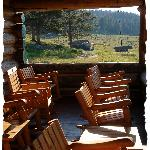 Nice Seats on the Ranch Porch