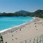 Olu Deniz Beach (from our balcony)