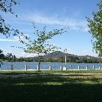 A view of Lake Burley Griffin.