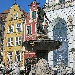 Neptune Fountain, Gdansk