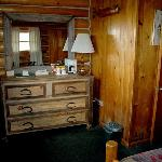 2nd bedroom dresser, Rustic Cabin