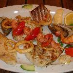Seafood platter at Fat Olives