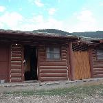 Exterior, row of Rustic Cabins, Aug 2007