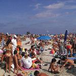 Troppa gente in spiaggia