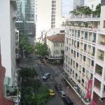 Huong Sen hotel just across
