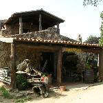 The farmhouse/restaurant