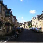 Witney Street which The Angel is on