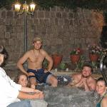 the hot tub