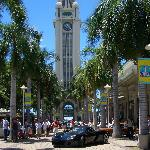The Porsche Club of Hawaii has a car show every September at Aloha Tower Marketplace